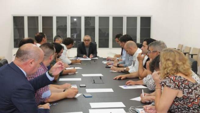 Reunión de CHG con alcaldes comarca Antequera