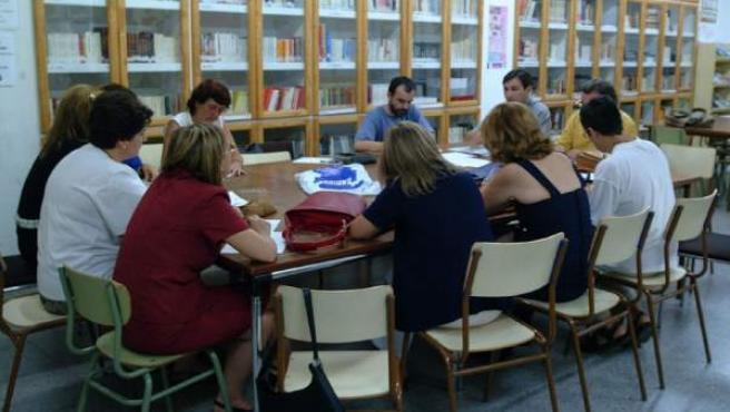 Un claustro de profesores de Secundaria