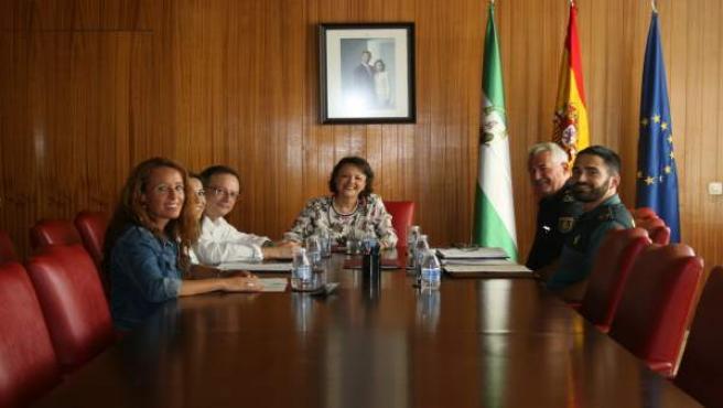 Reunión por el Plan Director para la Convivencia y Mejora de Seguridad Escolar