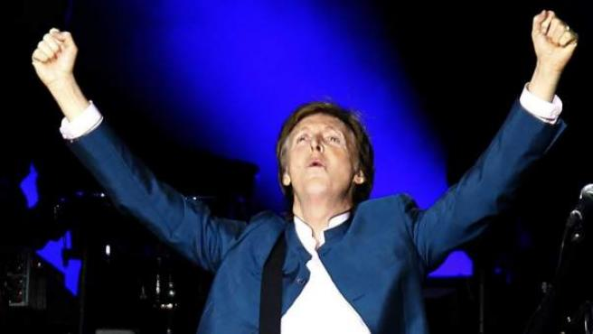 Paul McCartney en Madrid.