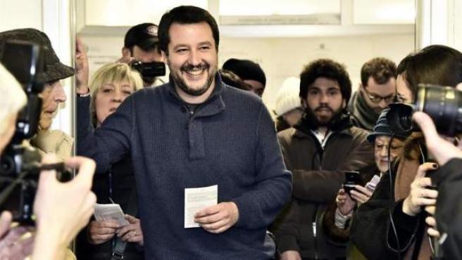 Matteo Salvini, líder del partido ultraderechista italiano Liga Norte.