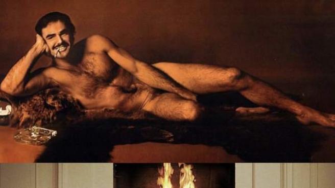 Burt Reynolds inspiró la pose de Deadpool para una campaña publicitaria.