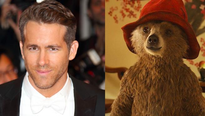 ¿Que Ryan Reynolds le ha dicho QUÉ al osito Paddington?