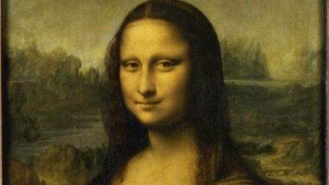 Imagen del cuadro de la Mona Lisa o 'La Gioconda', un óleo pintado por Leonardo da Vinci y expuesto en el Museo del Louvre de París.