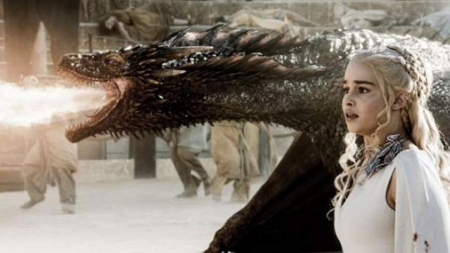 Daenerys en la séptima temporada de 'Juego de Tronos'.