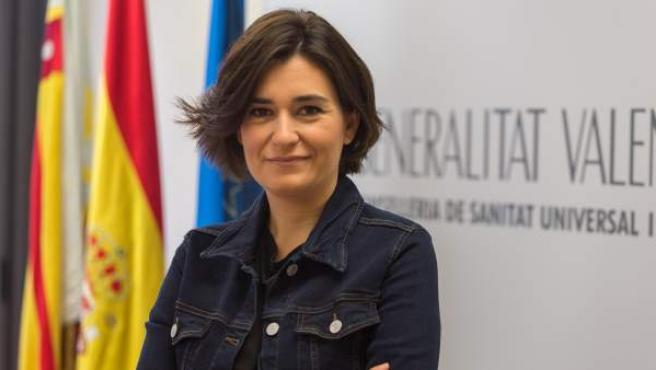 Carmen Montón, durante su etapa como consellera valenciana de Sanidad Universal.