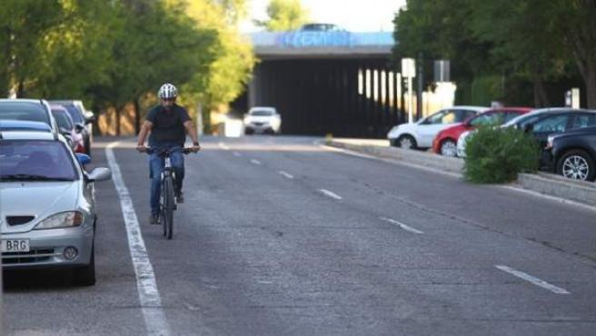 Carmena acabará los 20 km de vías ciclistas pendientes el próximo año
