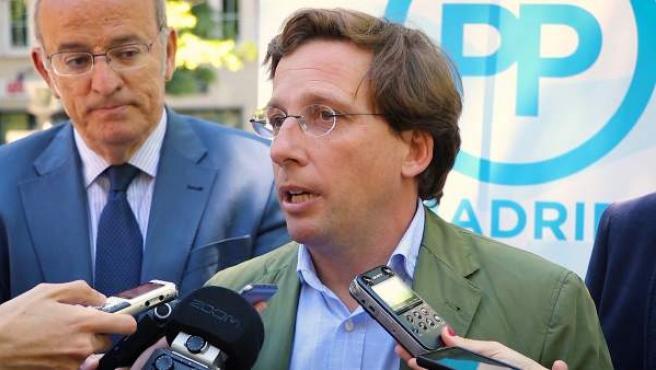 El portavoz del Partido Popular en el Ayuntamiento de Madrid, José Luis Martínez-Almeida.