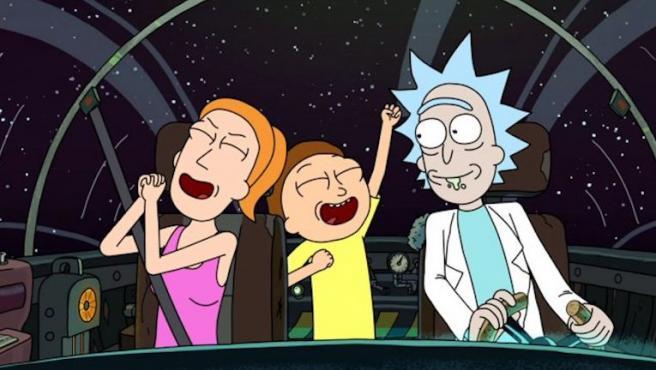 'Rick y Morty' y 'Black Mirror' triunfan en los Emmy