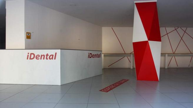 Clínica desmantelada de iDental en Méndez Álvaro (Madrid).