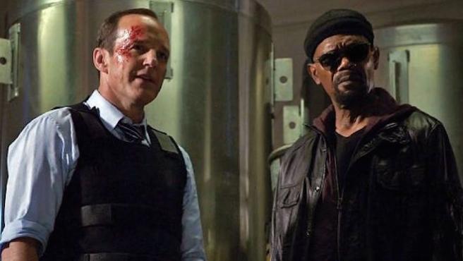 Así será el encuentro entre Phil Coulson y Nick Furia en 'Capitana Marvel'