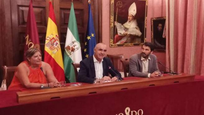 Antonio Muñoz recibe a Marilyn Bobes
