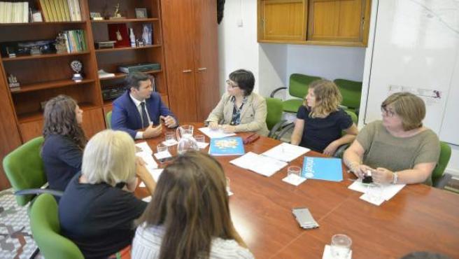 Reunión del Ayuntamiento de Greanada con Unicef