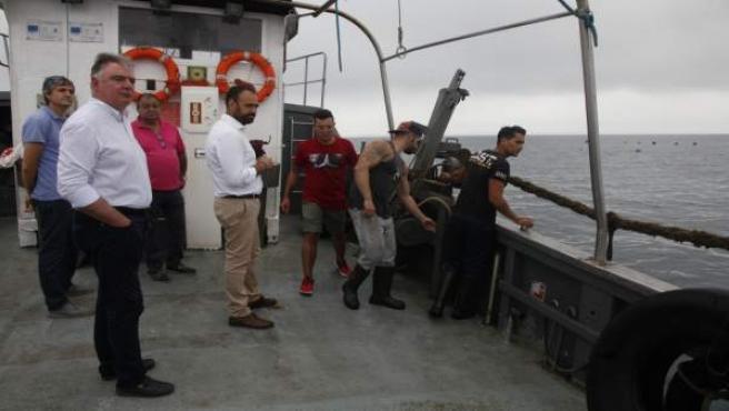 La Junta respalda a la empresa 'Mejillones de Isla'