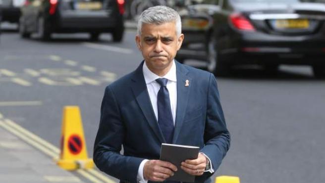 Una imagen de Sadiq Khan, alcalde de Londres.