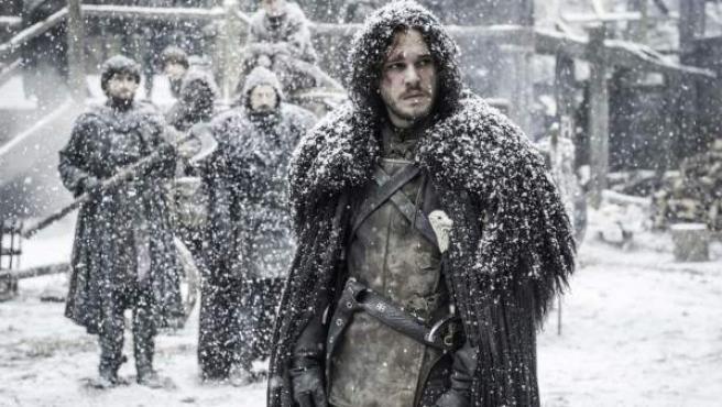 Jon Nieve, uno de los protagonistas de 'Juego de Tronos'.