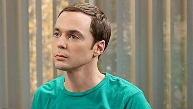 Jim Parsons como Sheldon Cooper en la serie 'The Big Bang Theory'.