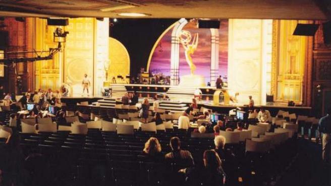 Imagen de un pasada entrega de los premios Emmy.