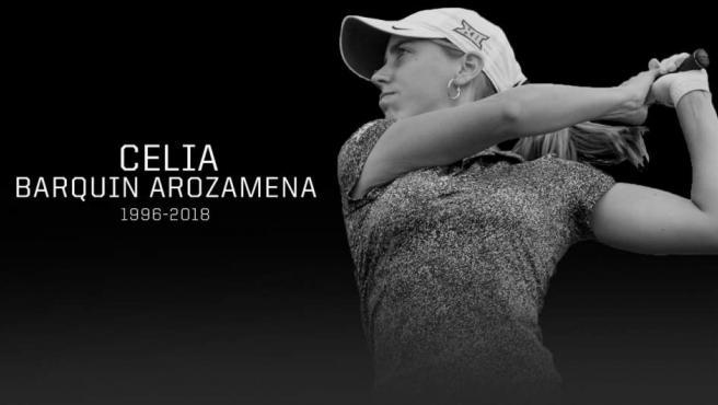 Celia Barquín, de 22 años, era una de las grandes promesas del golf español.