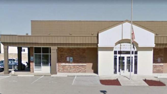 Imagen de archivo del edificio de los juzgados del municipio de Masontown, en Pensilvania (EE UU), donde una persona resultó muerta y varias heridas como consecuencia de un tiroteo.