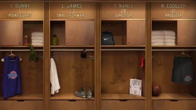 Imagen que confirma que Lebron protagonizará 'Space Jam 2'.
