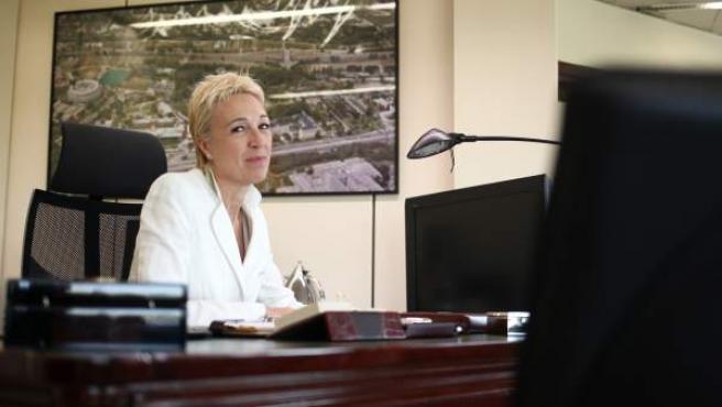 María Marcos, jefa de Seguridad de Pedro Sánchez en la Moncloa.