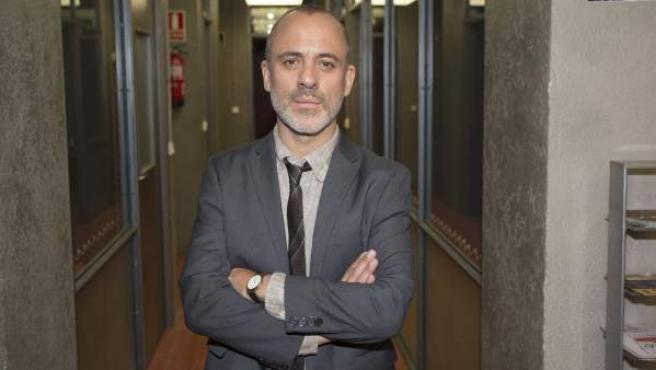 El actor Javier Gutiérrez protagoniza 'Estoy vivo', la serie de La 1.