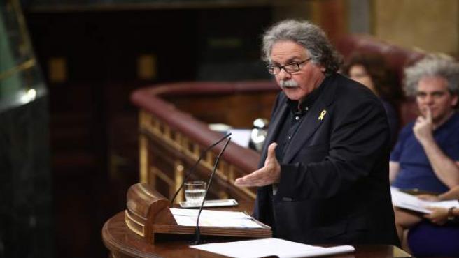 Joan Tarda interviene en el Congreso (foto archivo)