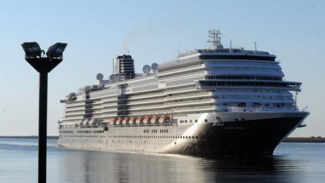 El buque de cruceros Koningsdam