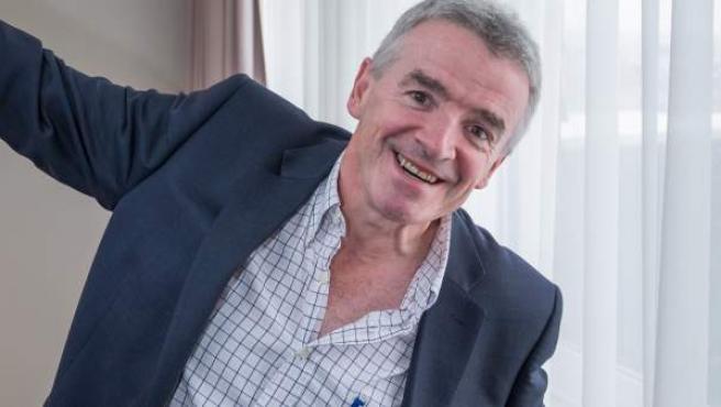 Imagen de Michael O'Leary, fundador de la aerolínea 'low cost' Ryanair.