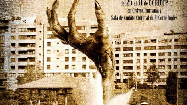Cartel del Festival de Cine Fantástico y de Terror de Navarra 2018