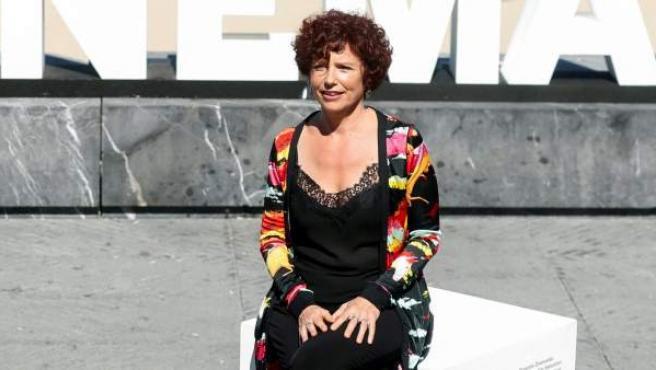 """La realizadora Iciar Bollaín, en la presentación de la película """"Yuli"""" en el Festival de Cine de San Sebastián."""