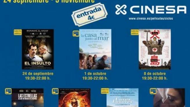 Cartel Cine Club Mérida