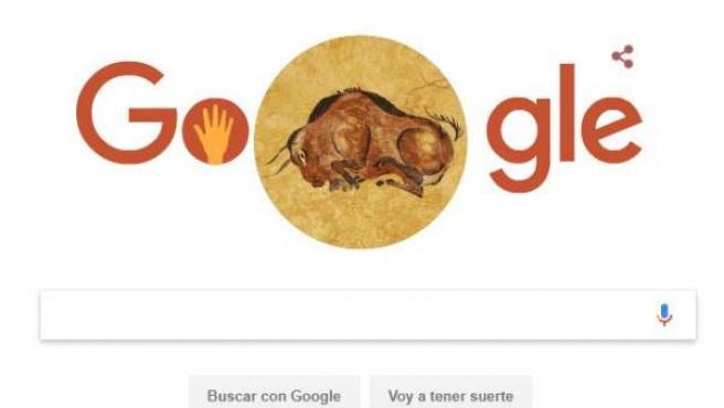 Doodle de Google dedicado a Altamira.