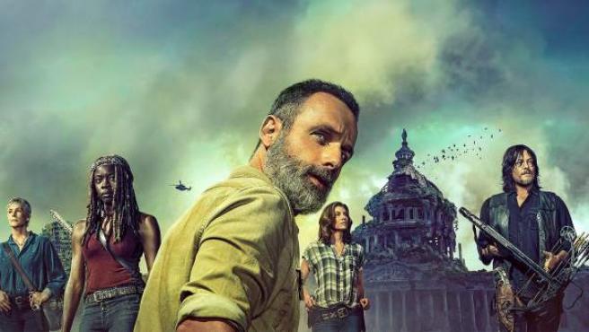Cartel de la novena temporada de 'The Walking Dead'