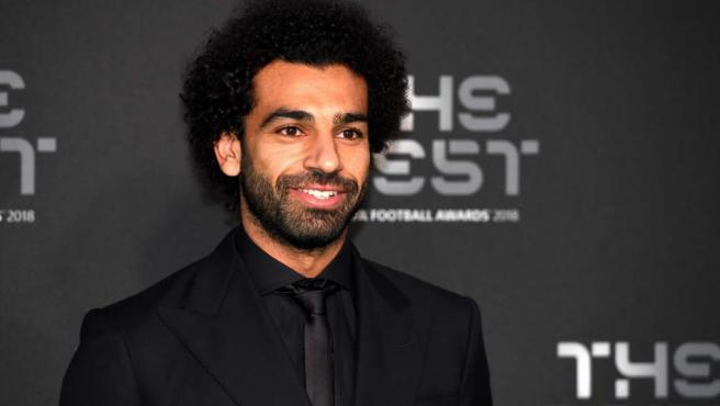 Mohamed Salah, otro de los tres candidatos al premio 'The Best' 2018
