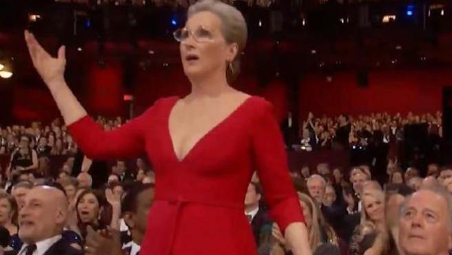 Vídeo: Esta imitación de Meryl Streep en los Oscar hace que Meryl Streep se parta de risa