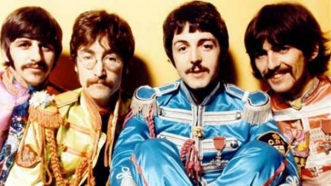 Ringo Starr, John Lennon, Paul McCartney y George Harrison en una imagen de archivo.