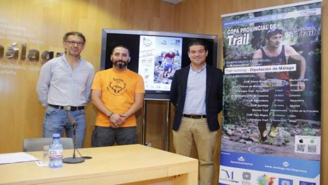 Presentación de la Berrea Trail Cortes de la Frontera ortega checa toro málaga
