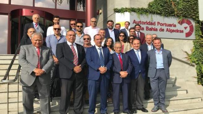 [Sevilla] Foto Y Nota De Prensa: Casi Una Veintena De Empresas De Cádiz Navales