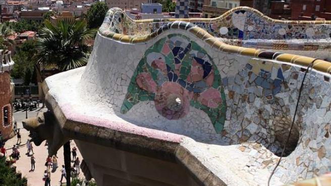 El Park Güell és un dels equipaments que es poden visitar de forma gratuïta amb el registre de Gaudir més Barcelona.