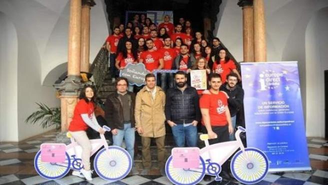 Participantes en el programa Erasmus+
