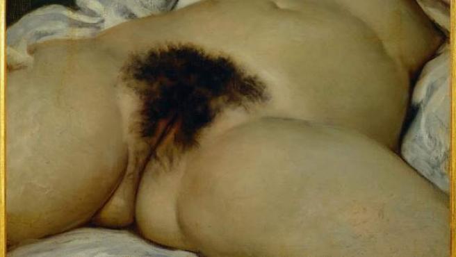 'El origen del mundo', de Gustave Courbet, expuesto en el Museo de Orsay.