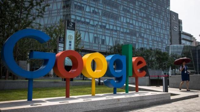 El gigante teconlógico Google.