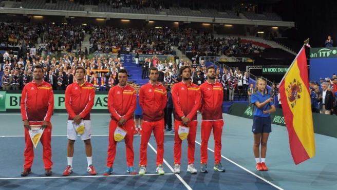 Equipo español Copa Davis España