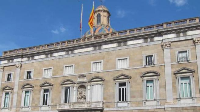 Plaza de Sant Jaume.