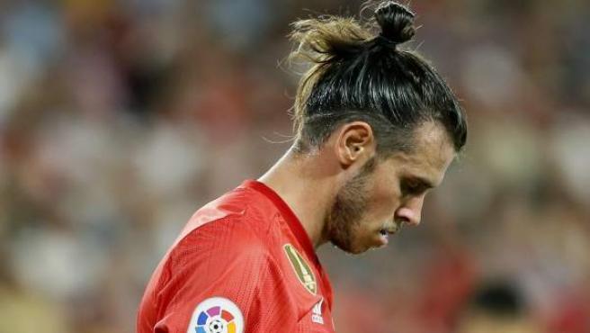 gareth Bale, cabizbajo en la derrota del Real Madrid en Sevilla