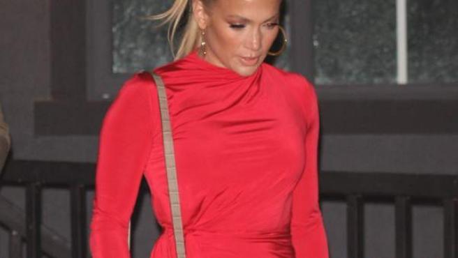 La actriz y cantante Jennifer Lopez.