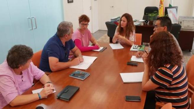 Reunión Remedios Palma con Flampa