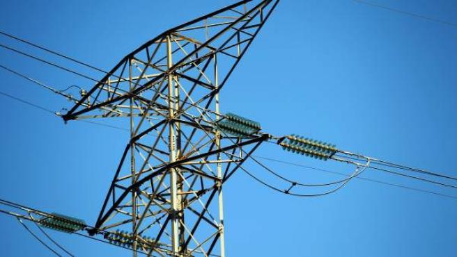 Torre de alta tensión, en una imagen de archivo.